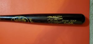 Lenny Dykstra 1990 All Star Game Autographed Louisville Slugger Bats 5