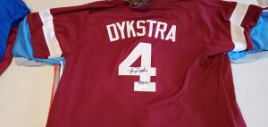 Lenny Dykstra Autographed and Inscribed Custom Phillies Maroon Jersey v1