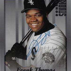 Frank Thomas 1997 Donurss Studio Autographed 8x10 Baseball Card #2