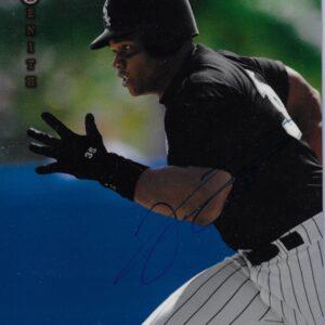 Frank Thomas 1997 Pinnacle Zenith Autographed 8x10 Baseball Card #1 of 24