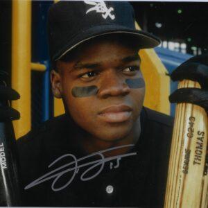 Frank Thomas White Sox Rookie 11x14 Autographed Photo