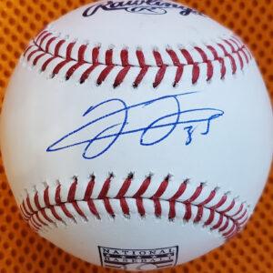 Frank Thomas Autographed HOF Baseball Sweetspot 1